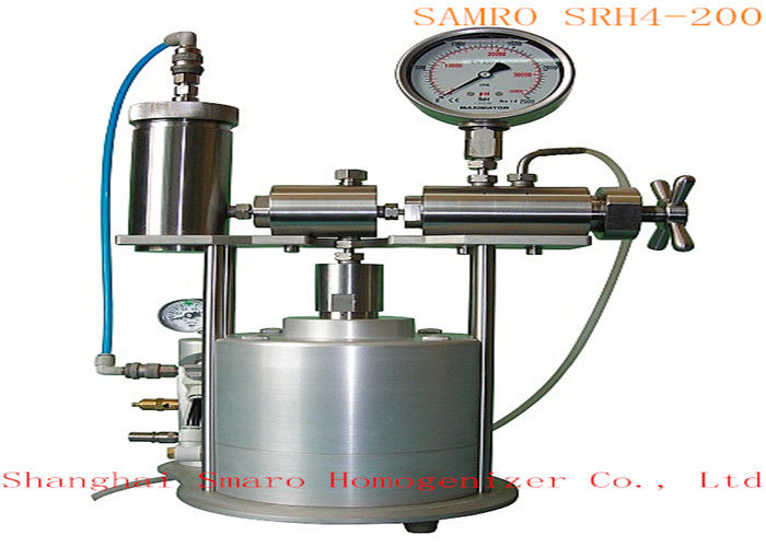 Compressed gas Drive mode Lab Homogenizer max pressure can be 2000 bar